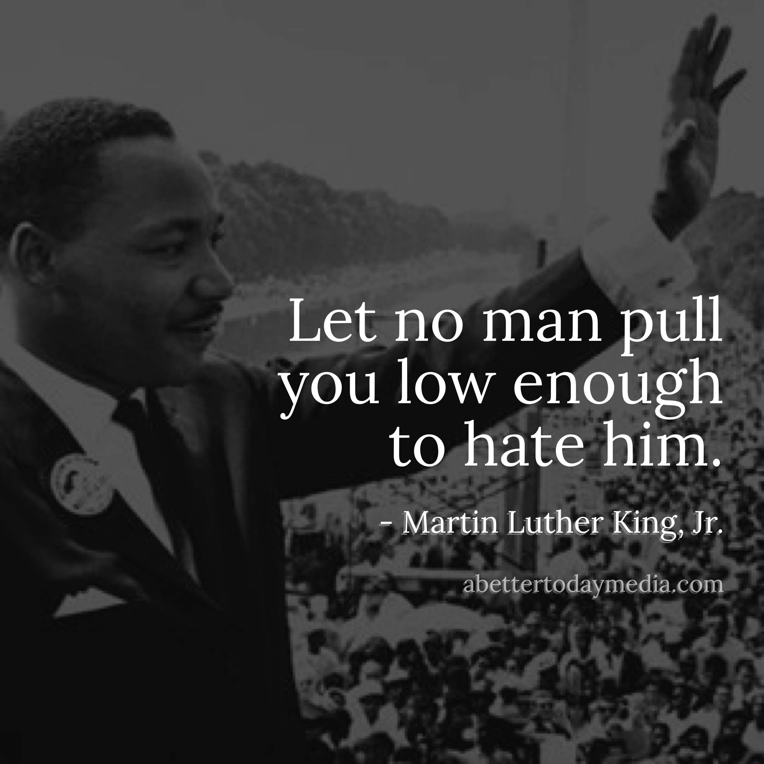 An analysis of equality and marthin luther king